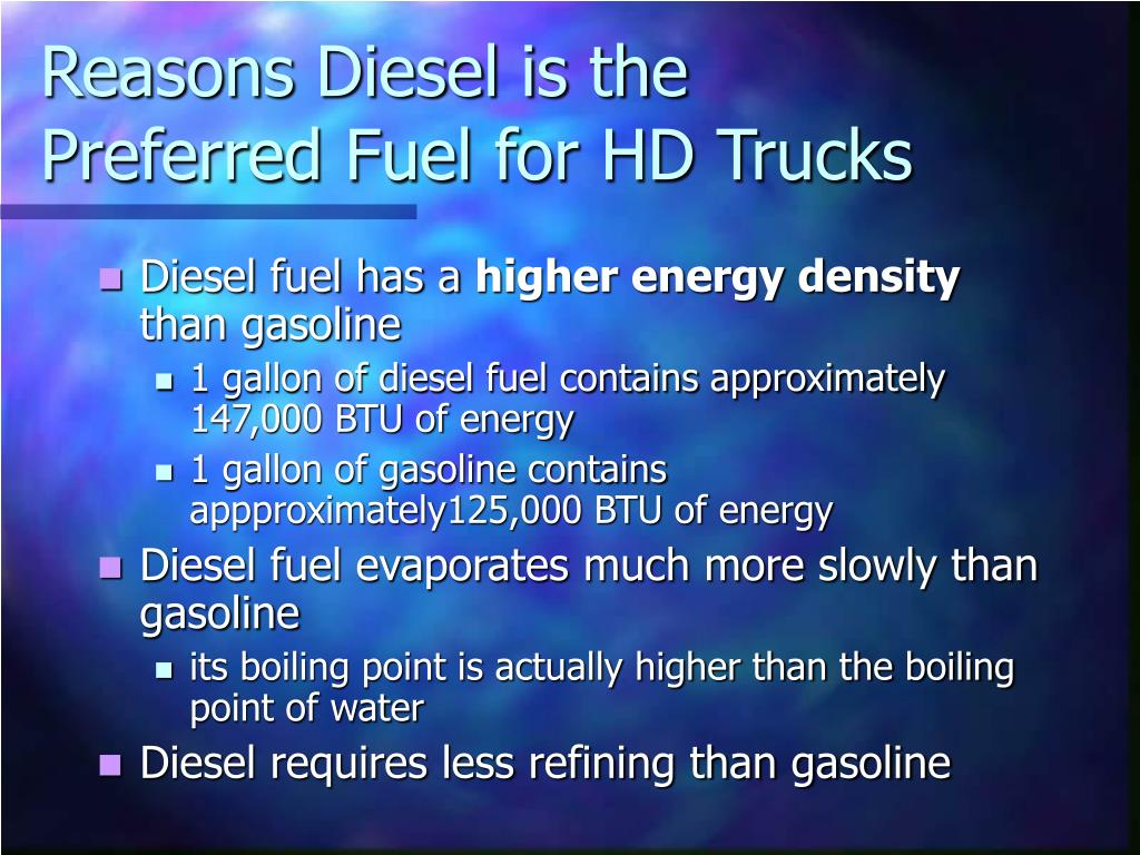 Reasons Diesel is the Preferred Fuel for HD Trucks