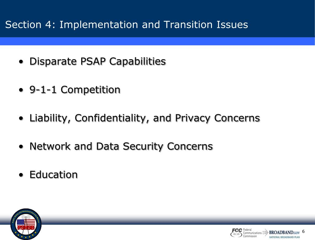 Disparate PSAP Capabilities