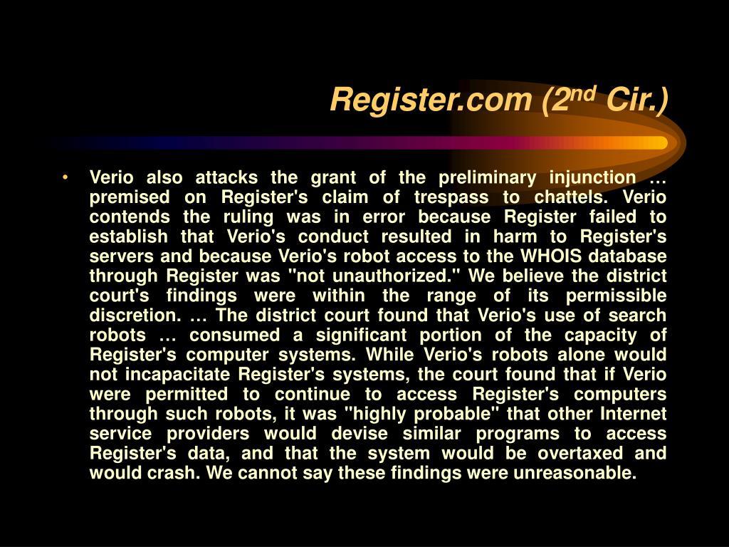 Register.com (2