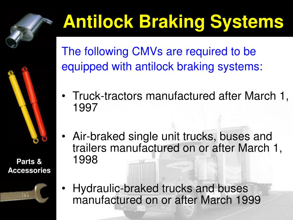 The following CMVs are required to be