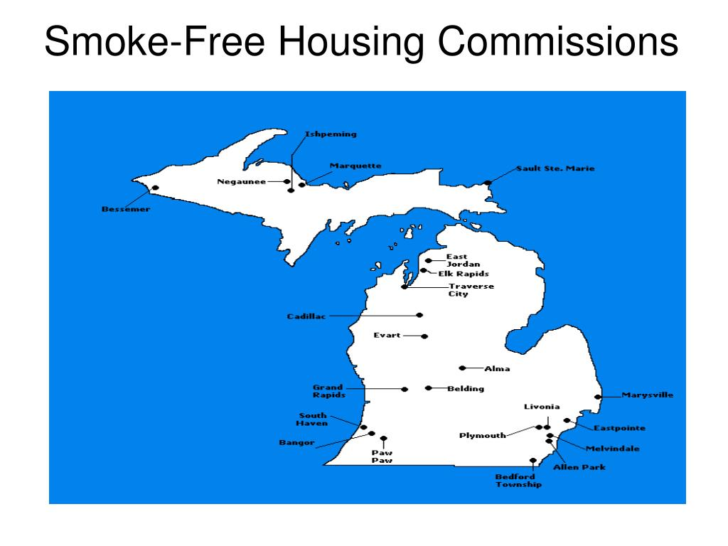 Smoke-Free Housing Commissions