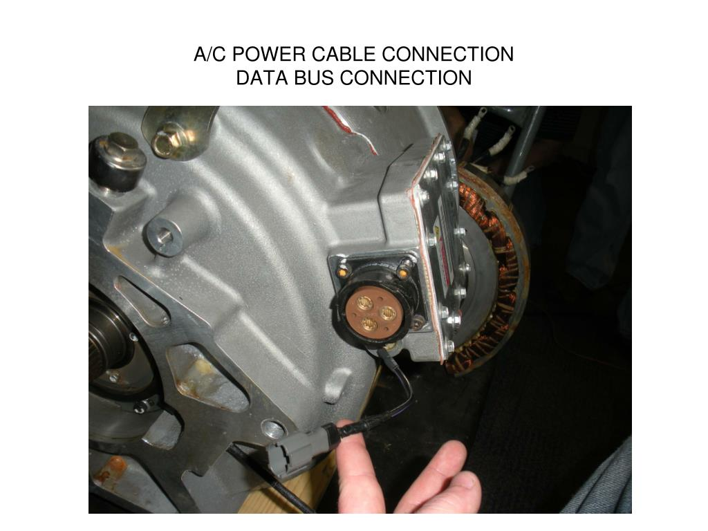 A/C POWER CABLE CONNECTION