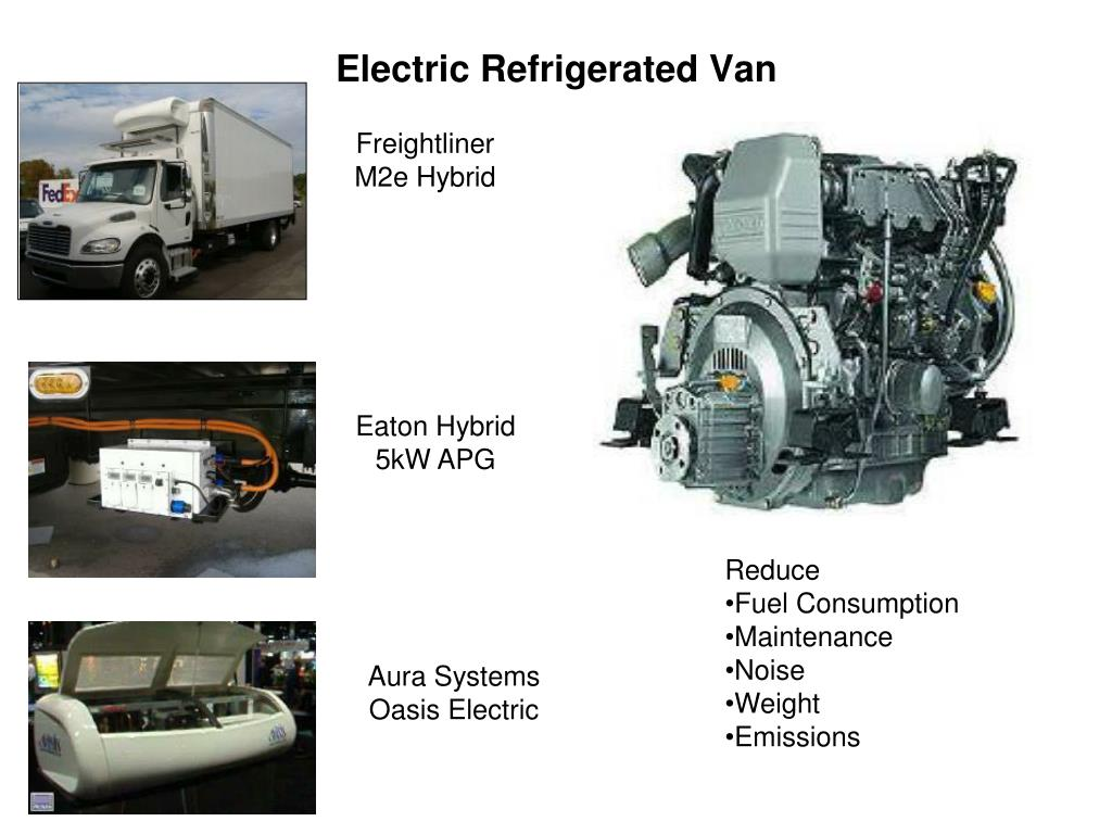 Electric Refrigerated Van