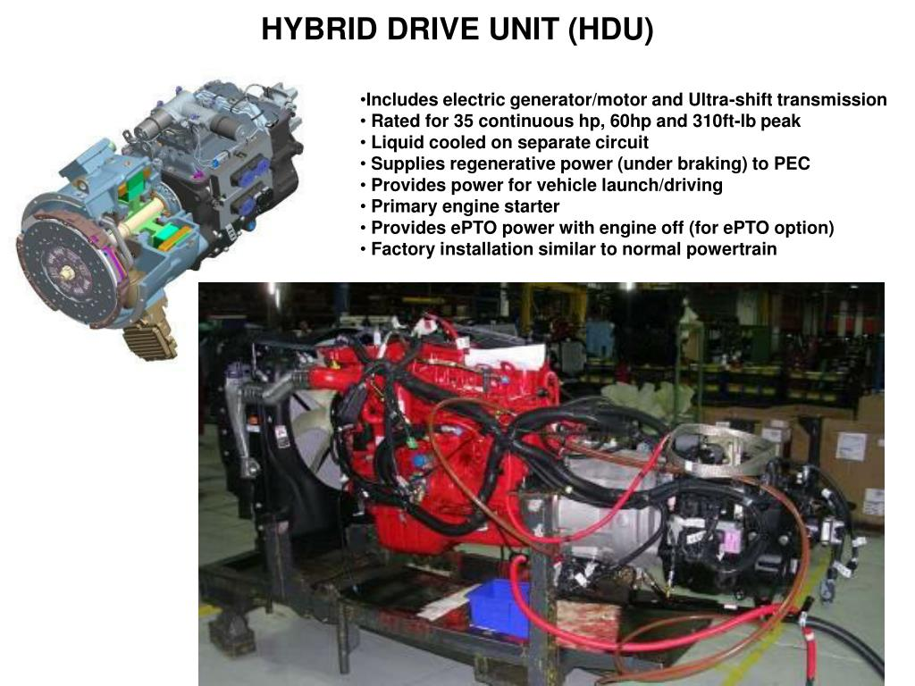 HYBRID DRIVE UNIT (HDU)