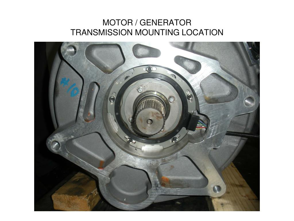 MOTOR / GENERATOR
