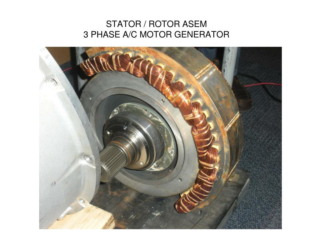 STATOR / ROTOR ASEM