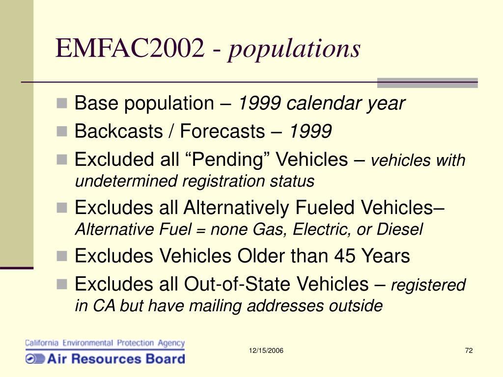 EMFAC2002 -