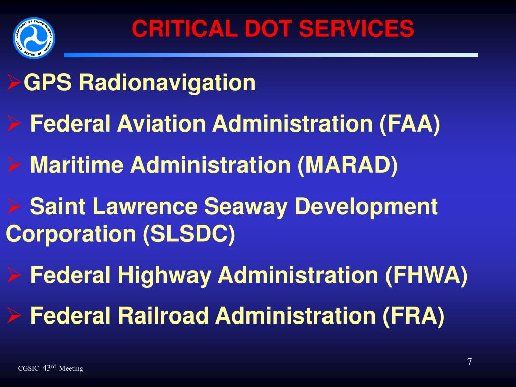 CRITICAL DOT SERVICES