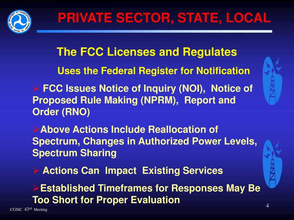 PRIVATE SECTOR, STATE, LOCAL