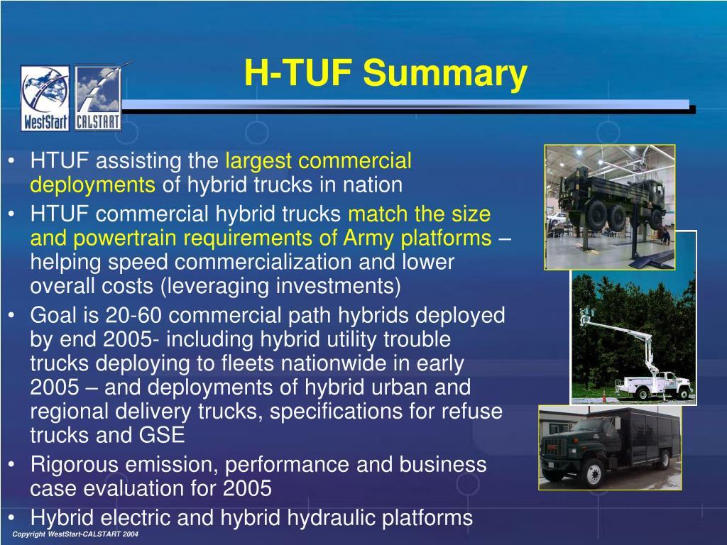 H-TUF Summary