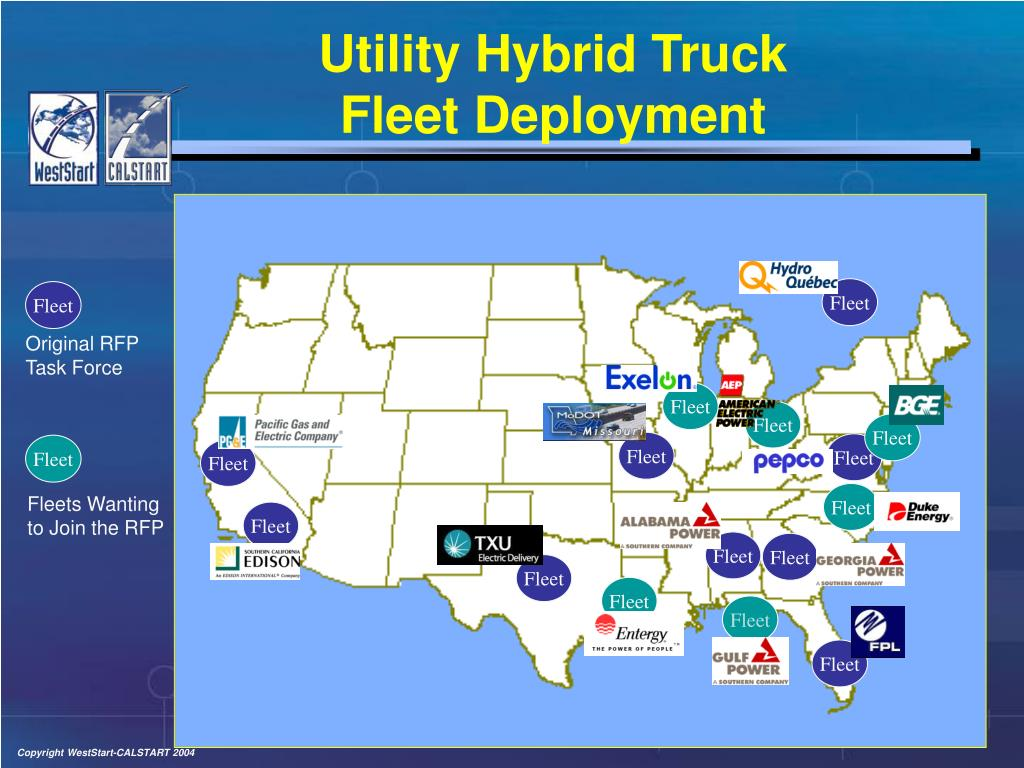 Utility Hybrid Truck