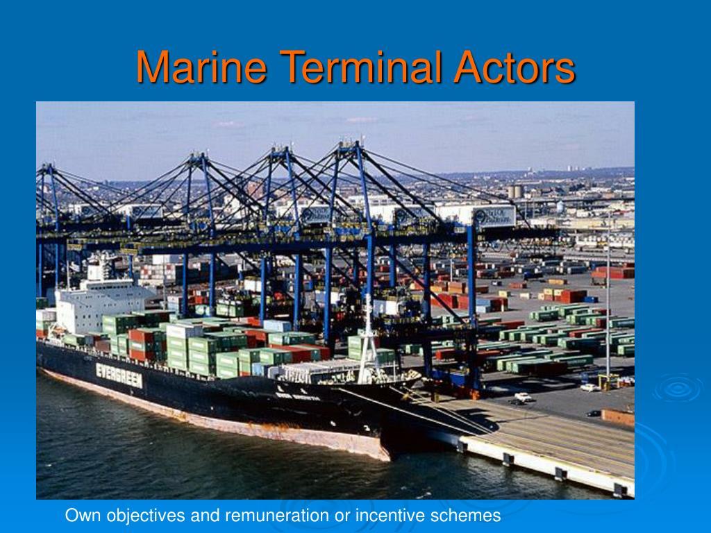 Marine Terminal Actors