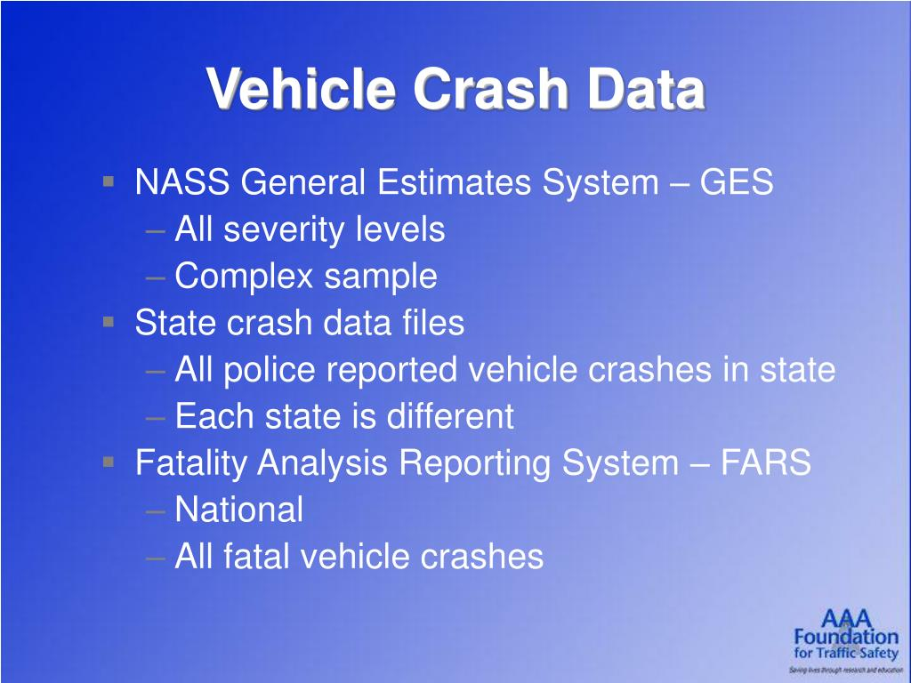 Vehicle Crash Data
