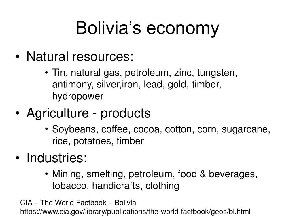 Bolivia's economy