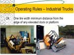 operating rules industrial trucks14