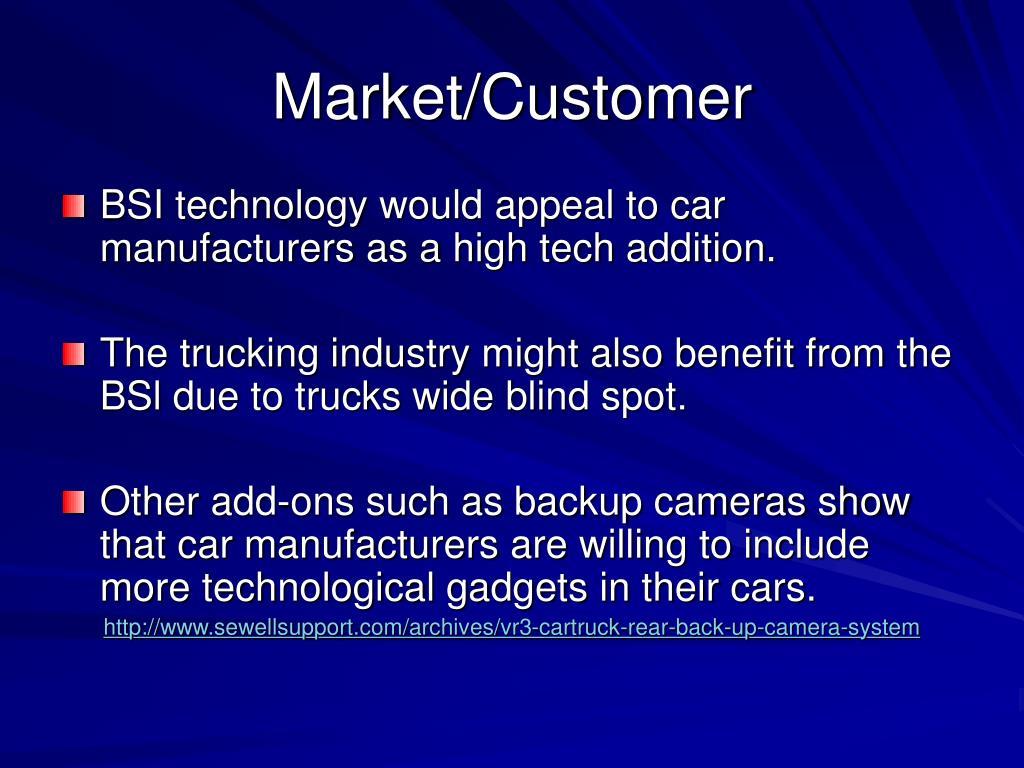 Market/Customer