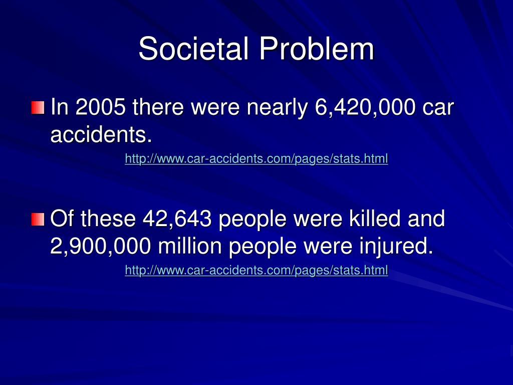 Societal Problem