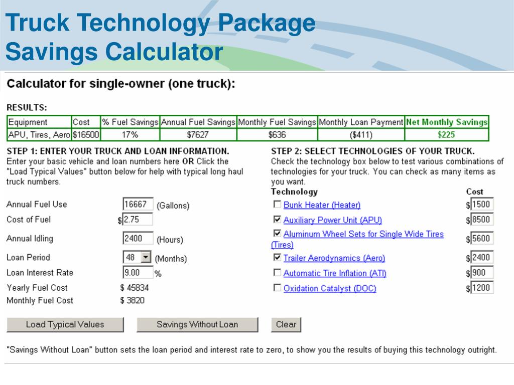 Truck Technology Package