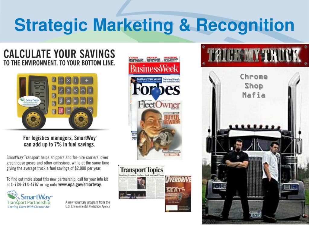 Strategic Marketing & Recognition