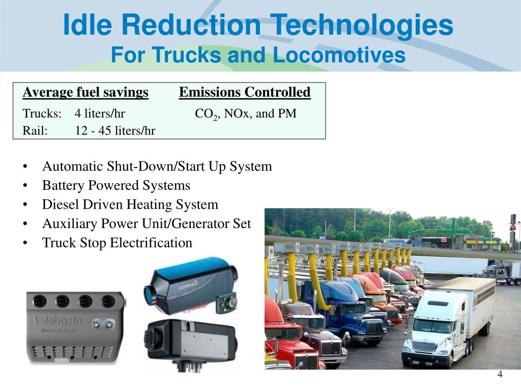 Idle Reduction Technologies