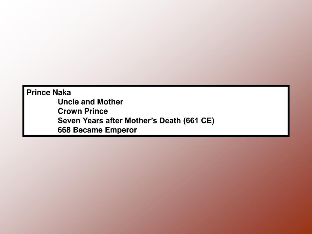 Prince Naka
