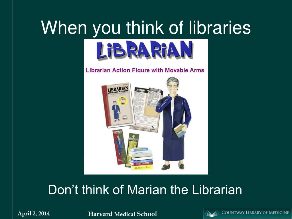 When you think of libraries