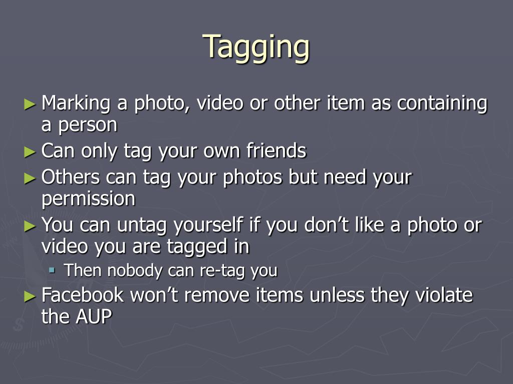 Tagging