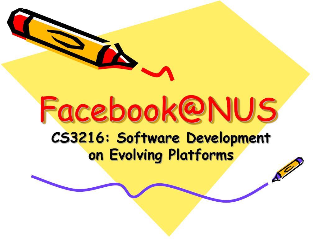 facebook@nus