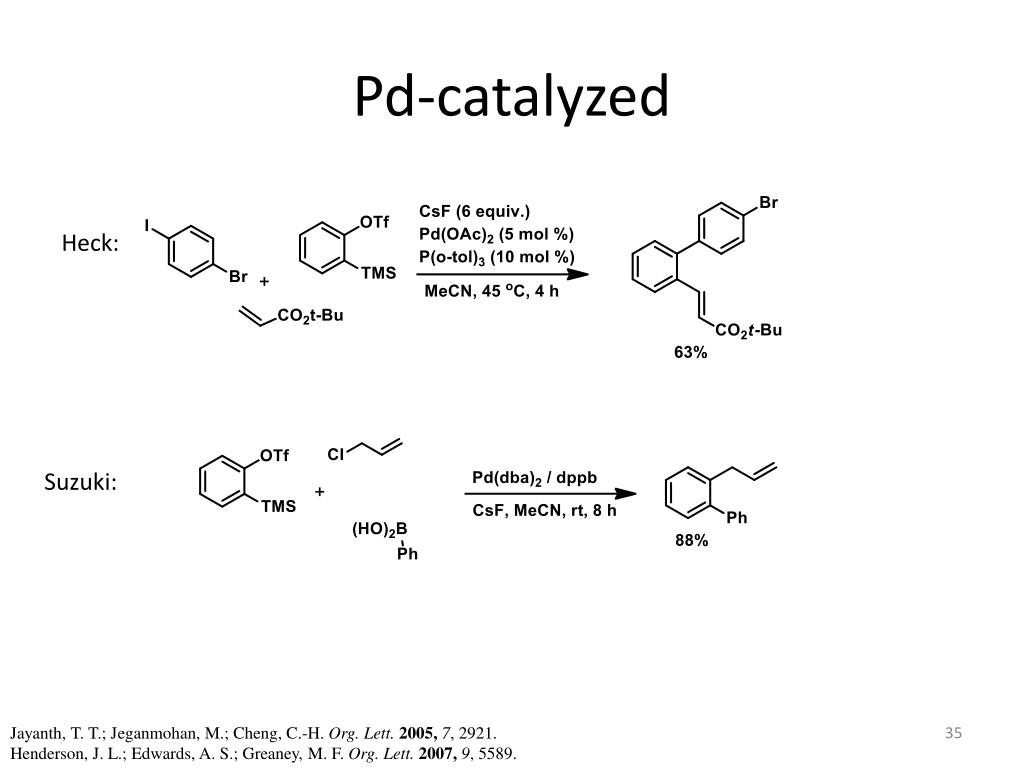 Pd-catalyzed
