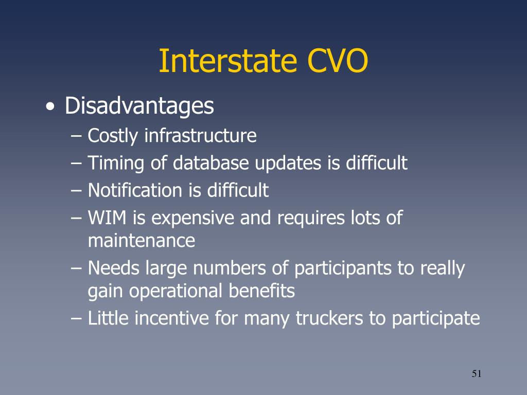 Interstate CVO