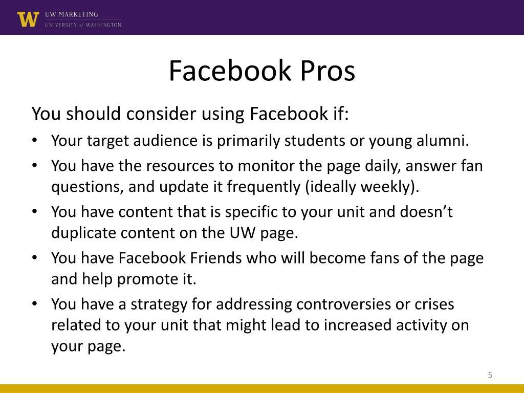 Facebook Pros