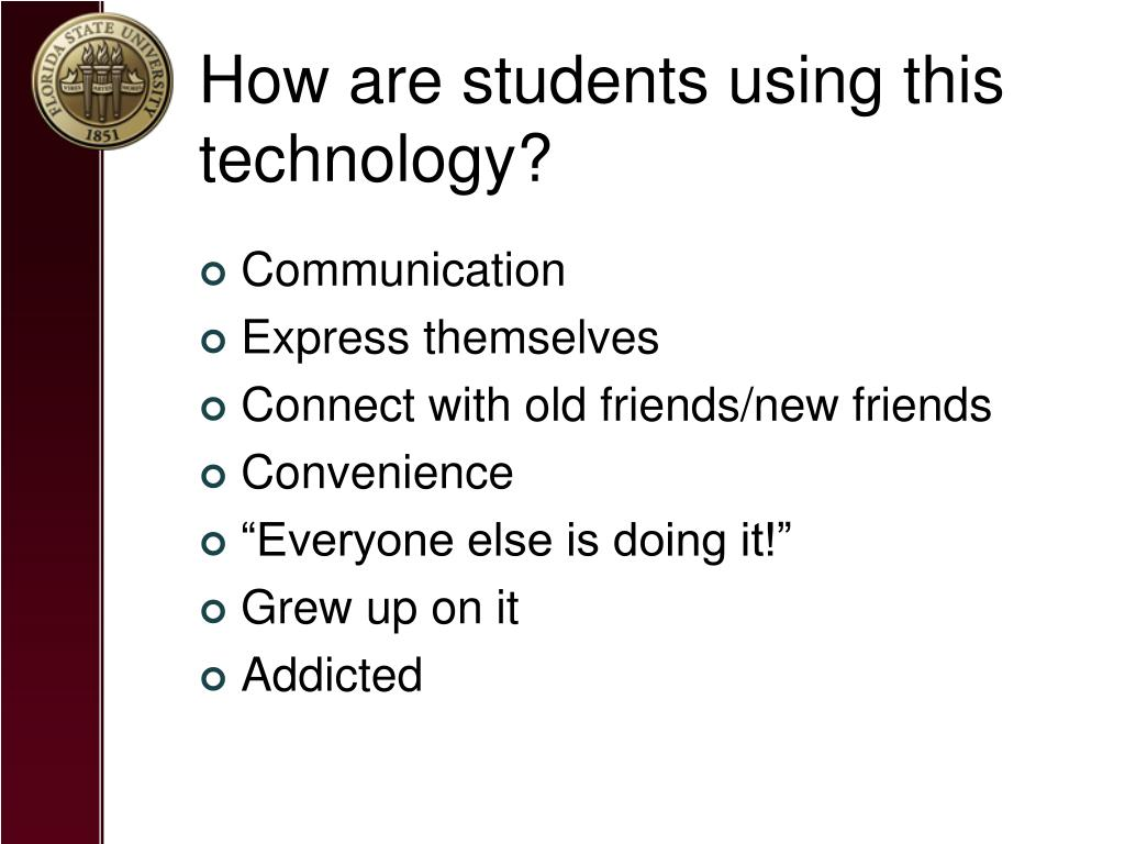 How are students using this technology?