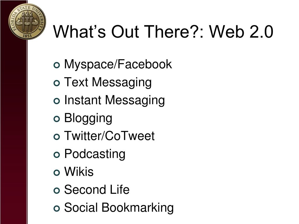 What's Out There?: Web 2.0