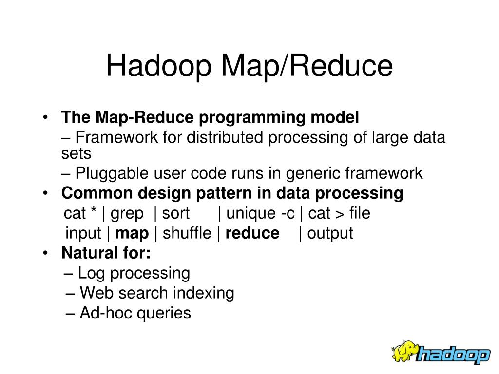 Hadoop Map/Reduce