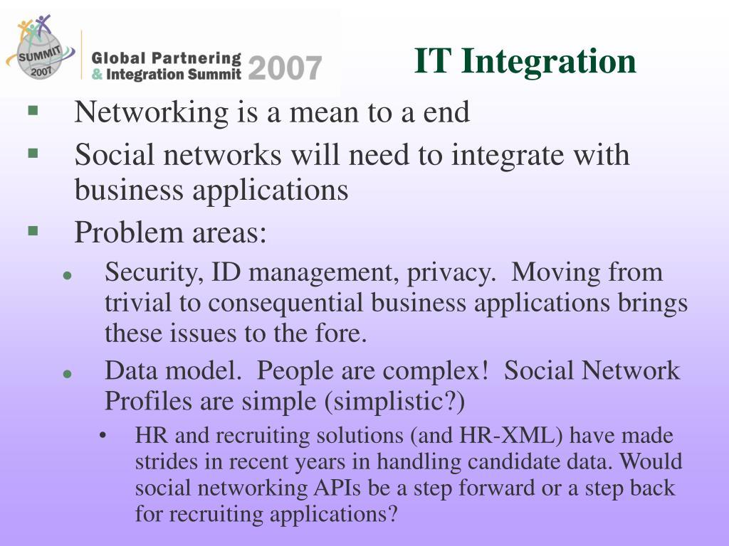IT Integration