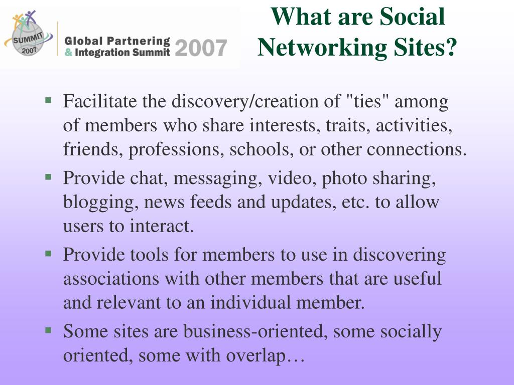 What are Social