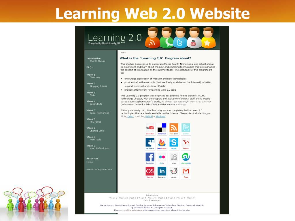 Learning Web 2.0 Website