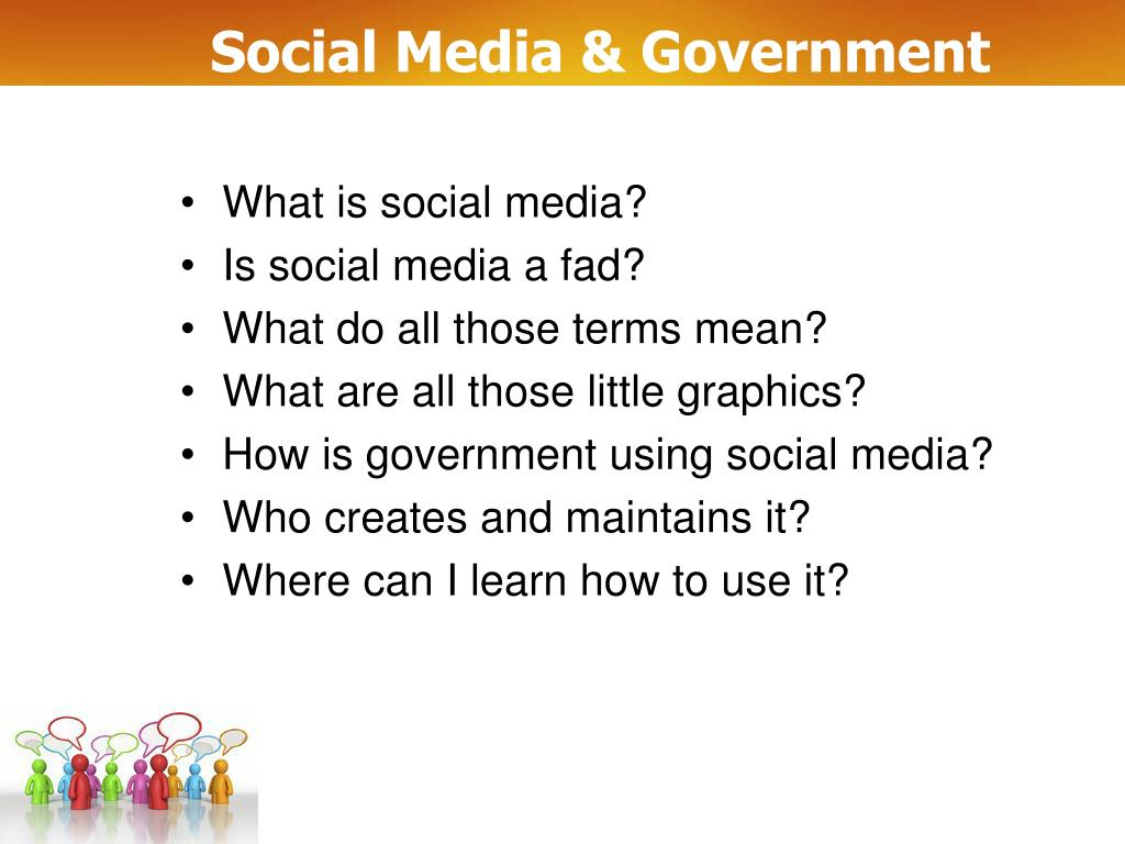 Social Media & Government