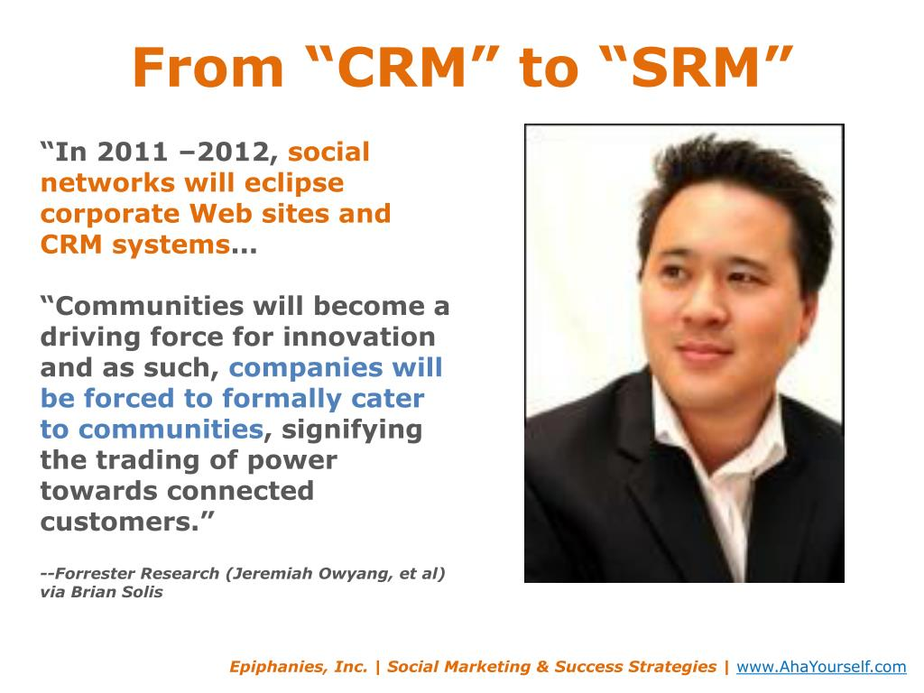 """From """"CRM"""" to """""""
