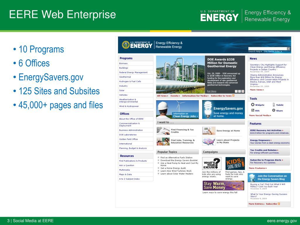 EERE Web Enterprise