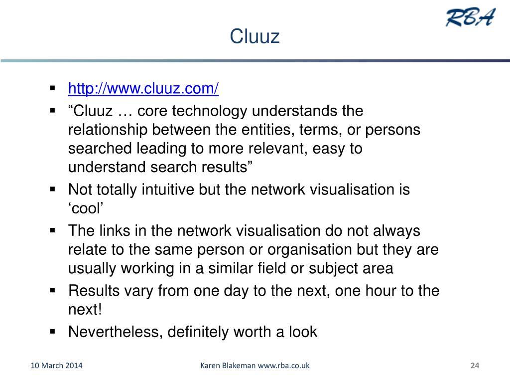 Cluuz