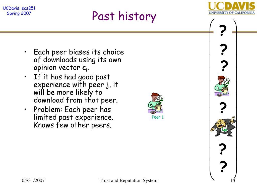 Past history