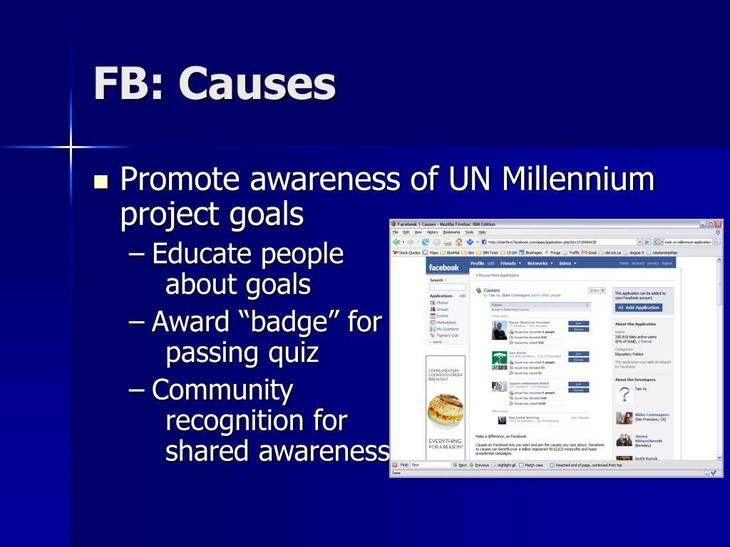 FB: Causes