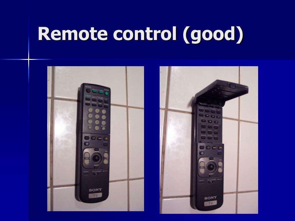 Remote control (good)