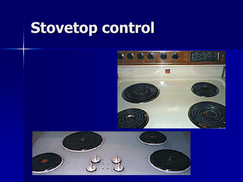 Stovetop control