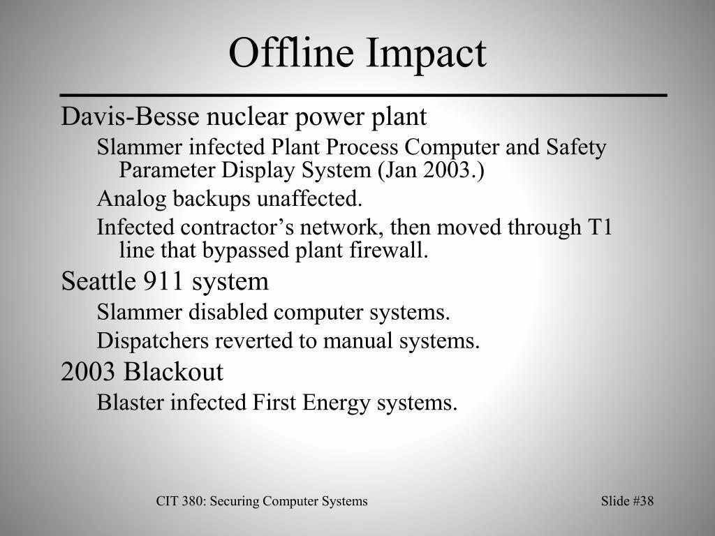 Offline Impact