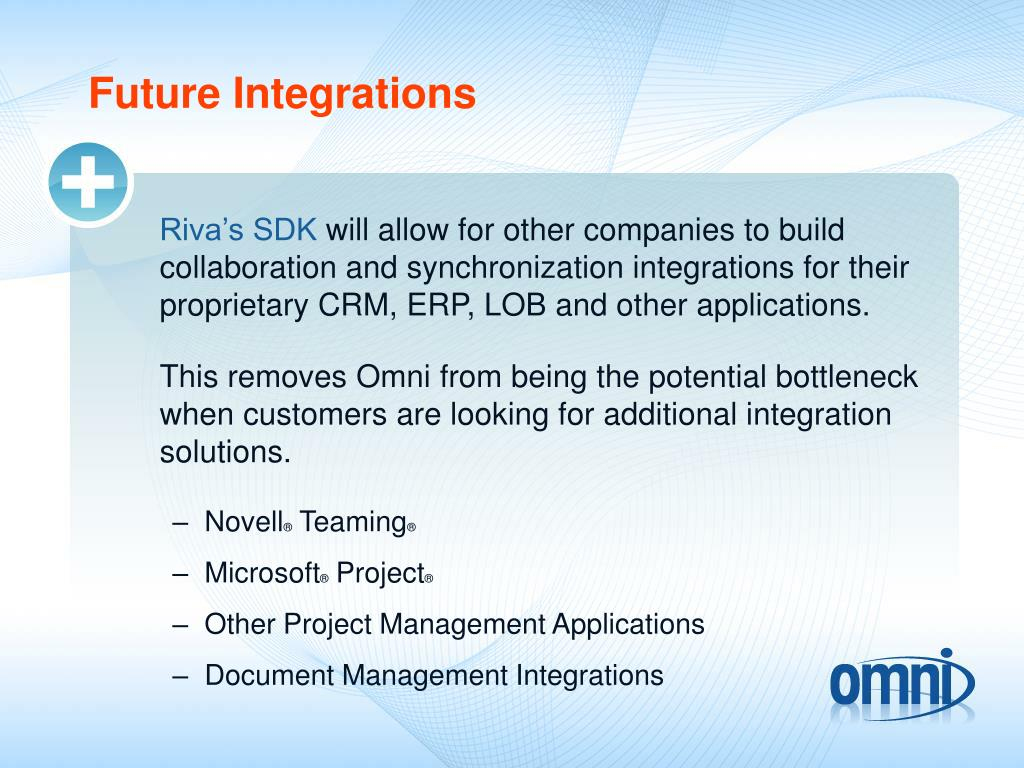 Future Integrations