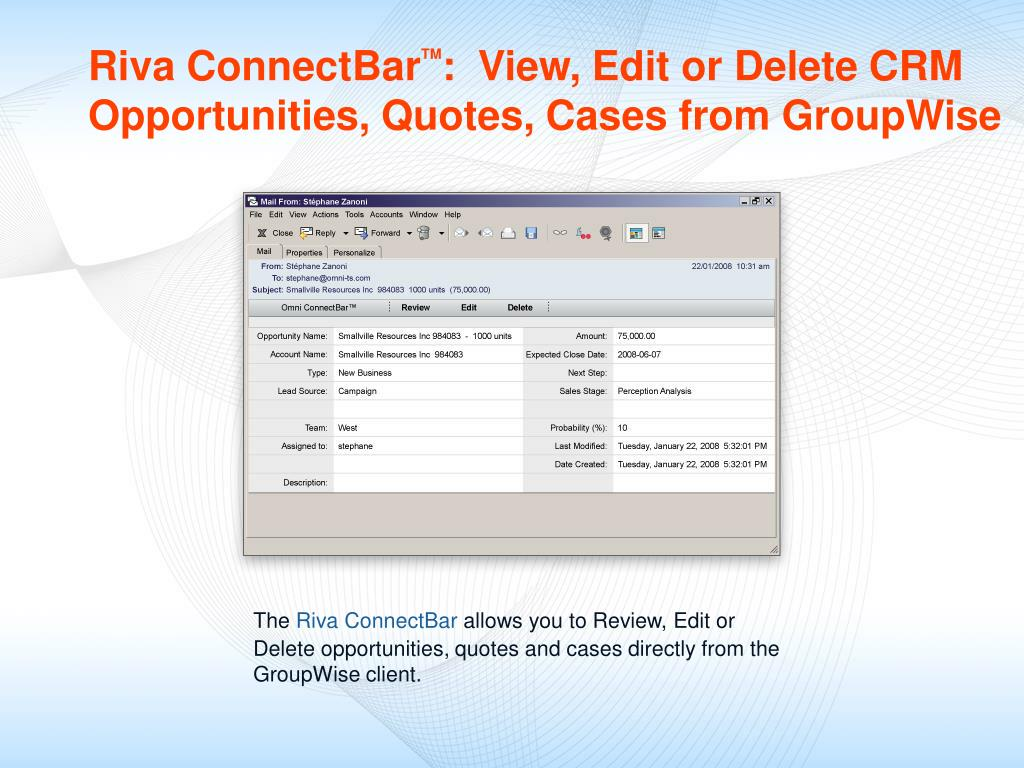 Riva ConnectBar