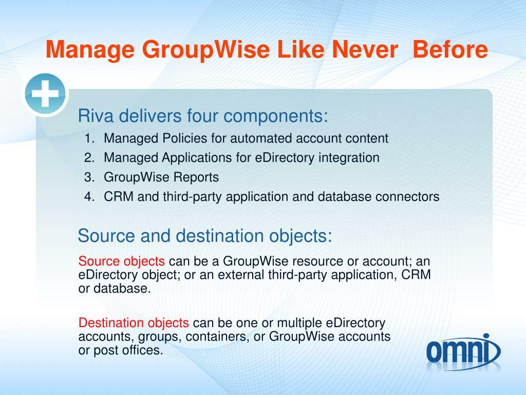 Manage GroupWise Like Never  Before