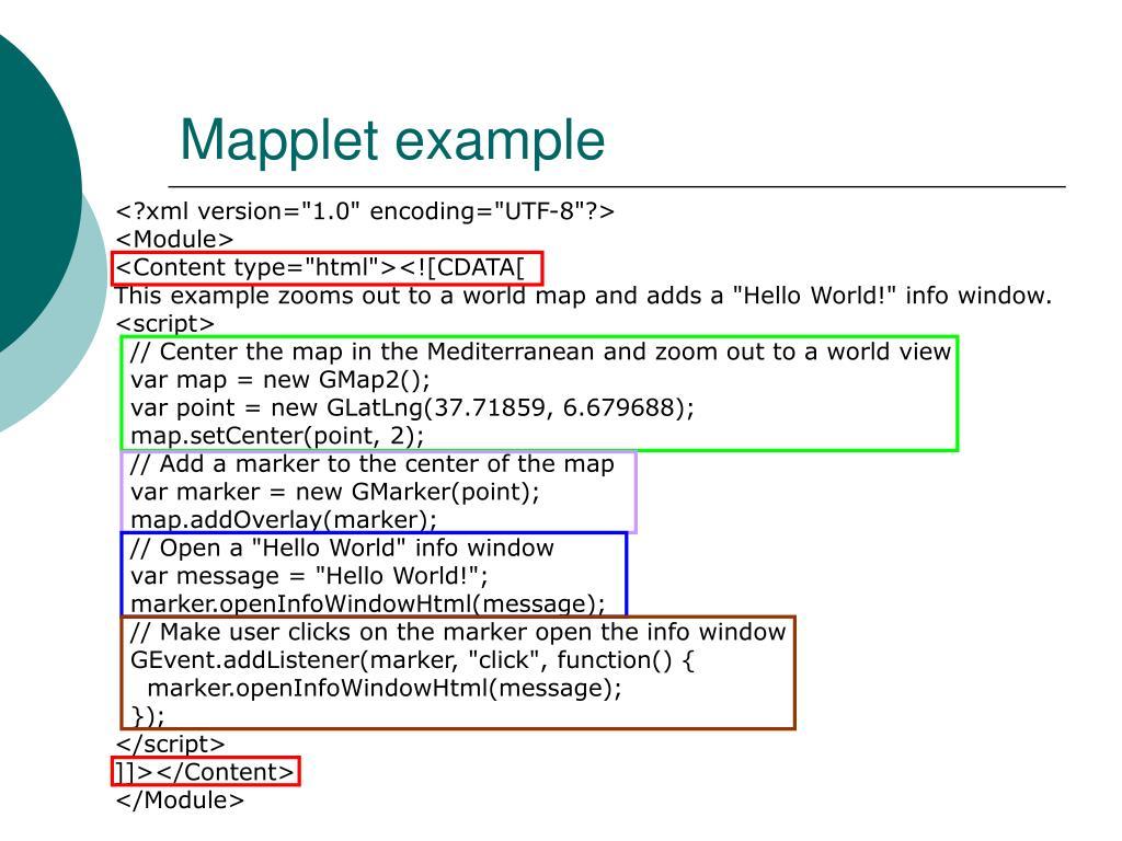 Mapplet example